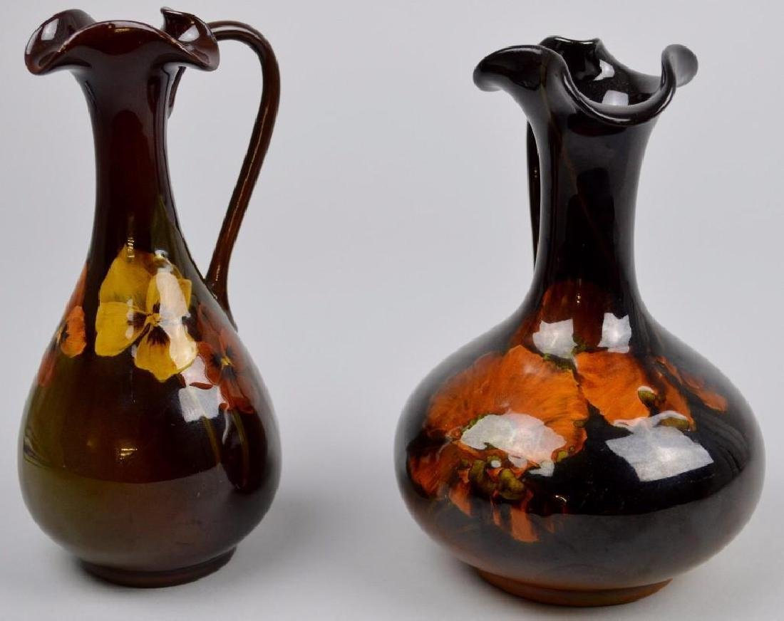 Rookwood Art Pottery Ewer Grouping