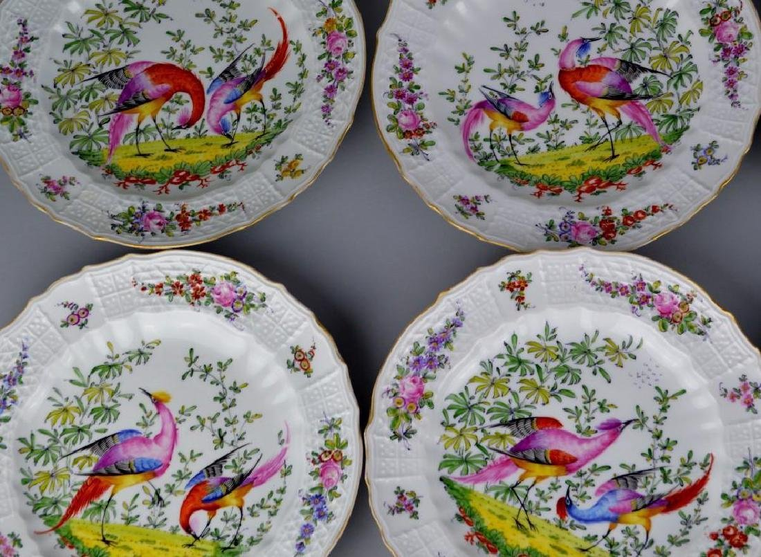 11 Chelsea Hand Painted Plates - 2