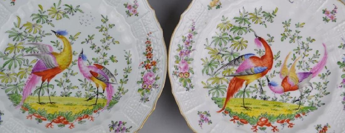 11 Chelsea Hand Painted Plates - 4