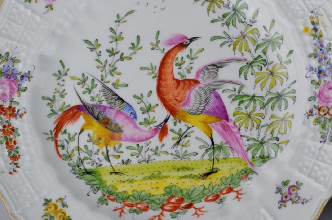 11 Chelsea Hand Painted Plates - 5