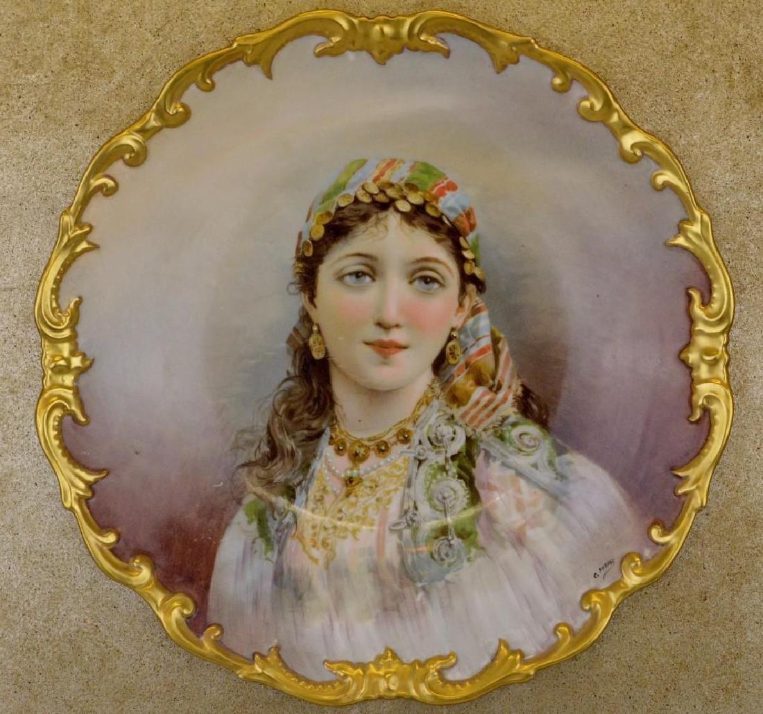 C. Durand Portrait Plate - 2