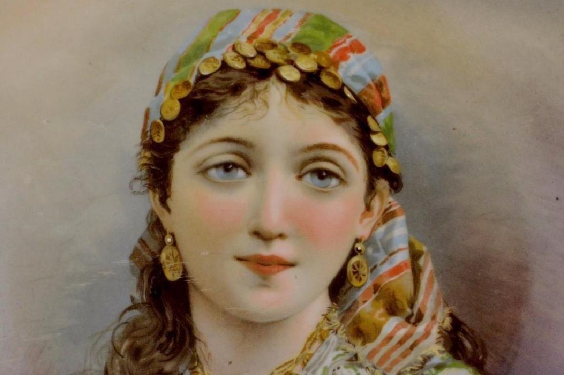 C. Durand Portrait Plate - 4