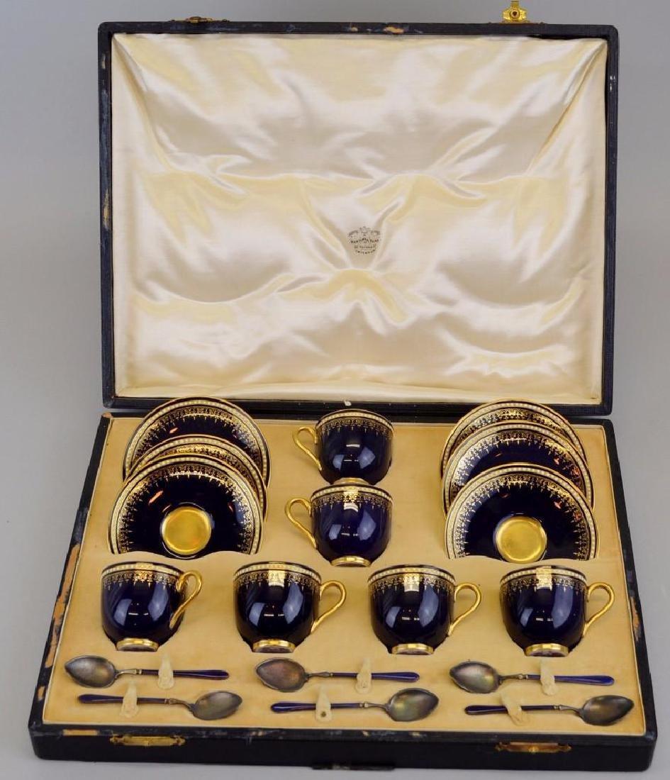 Royal Worcester Demitasse Set