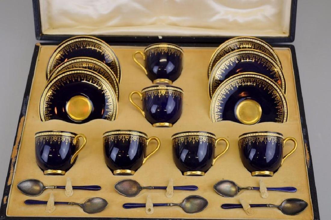 Royal Worcester Demitasse Set - 2