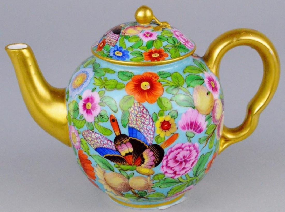 Enameled Soft Paste Tea Service - 4