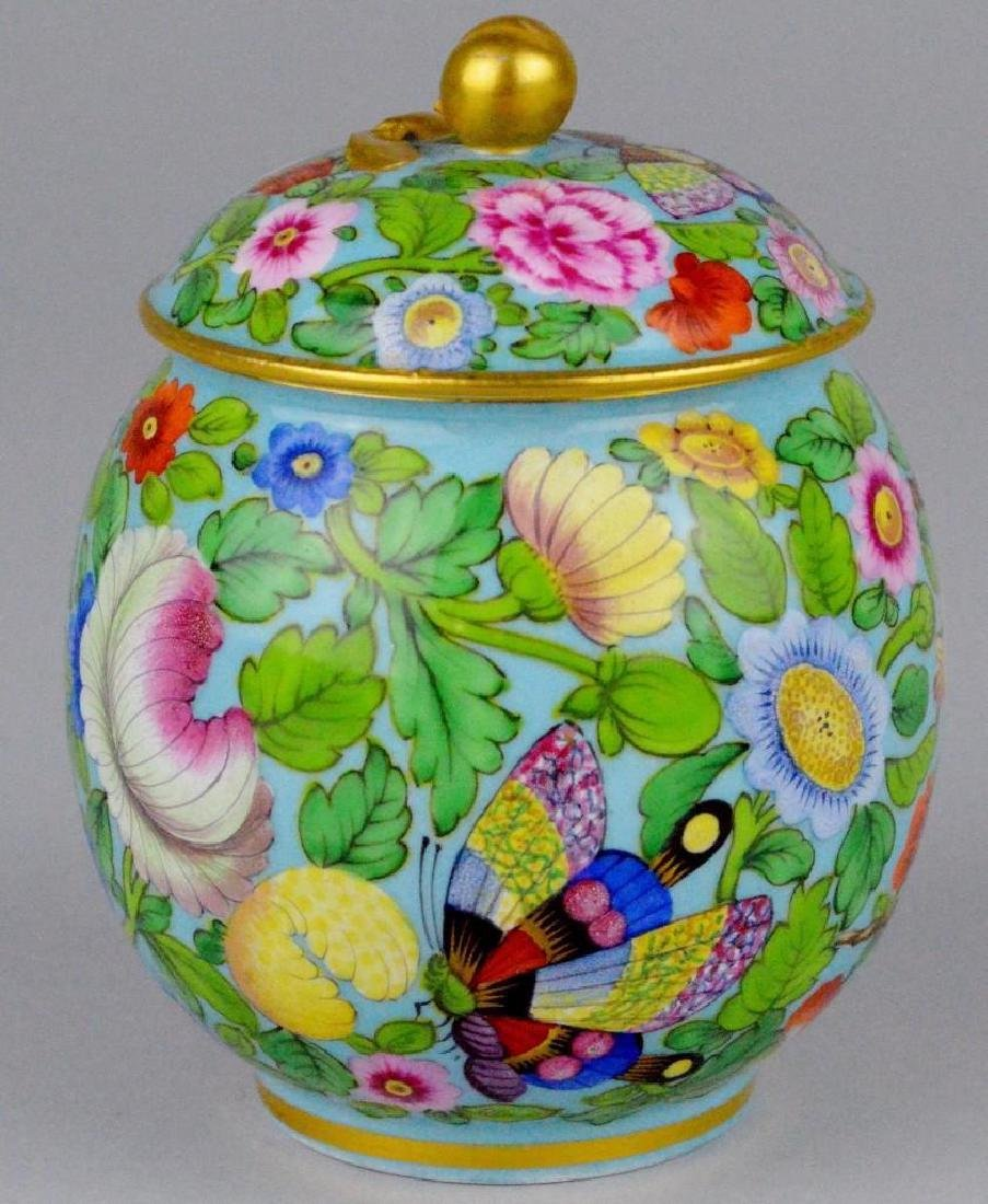 Enameled Soft Paste Tea Service - 5