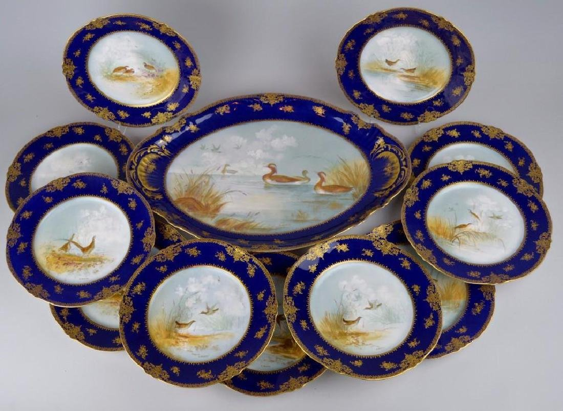 Theodore Haviland Cobalt Blue French Limoges