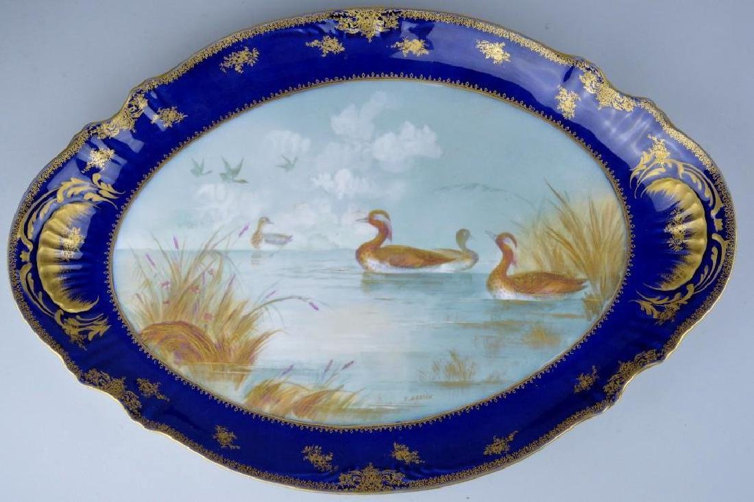 Theodore Haviland Cobalt Blue French Limoges - 2
