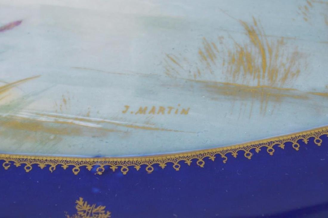 Theodore Haviland Cobalt Blue French Limoges - 4