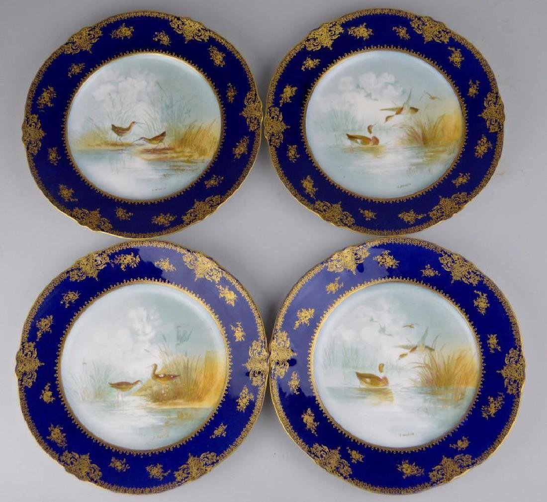 Theodore Haviland Cobalt Blue French Limoges - 6