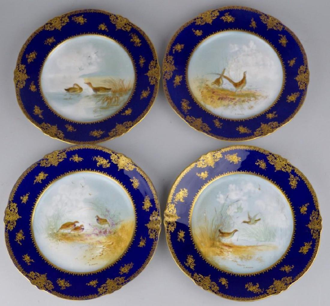Theodore Haviland Cobalt Blue French Limoges - 7