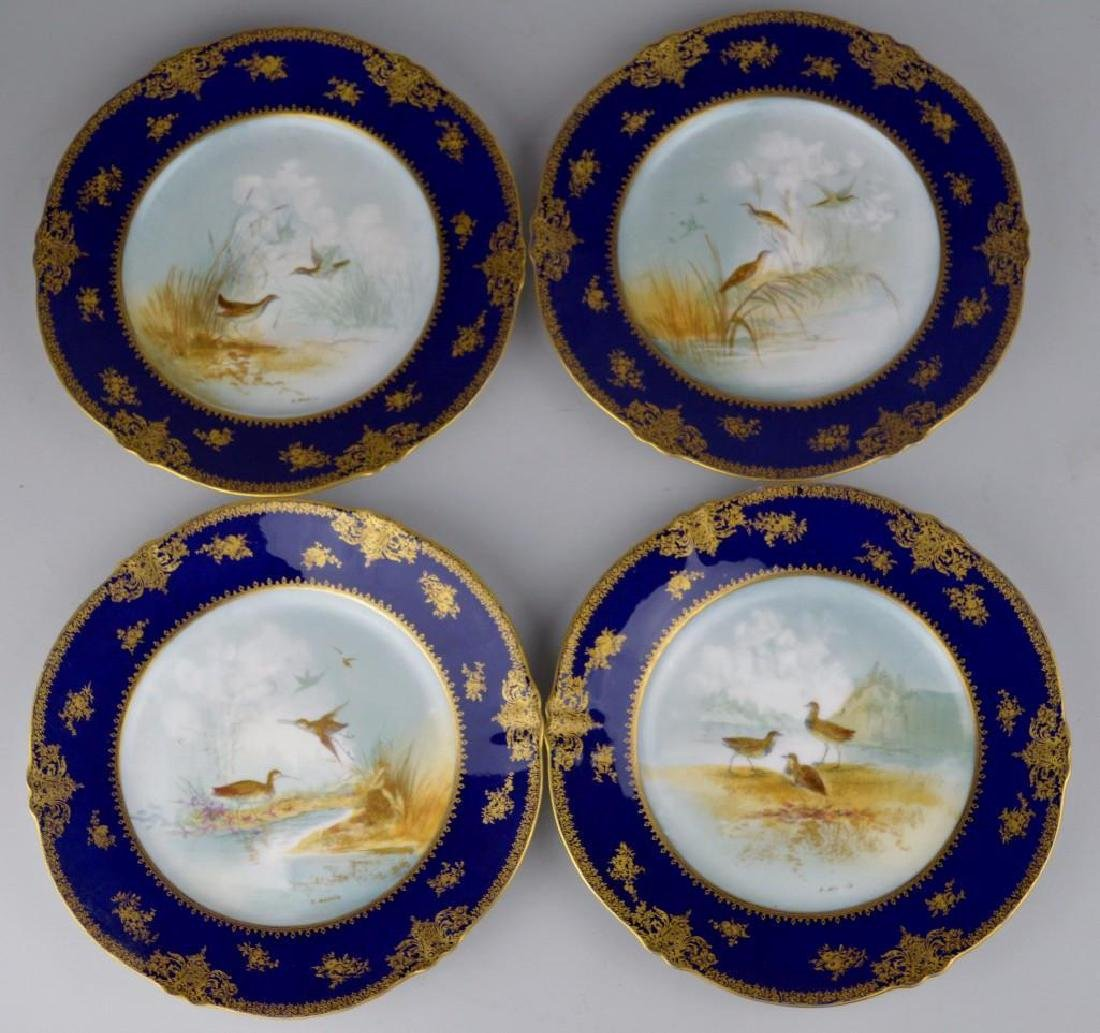 Theodore Haviland Cobalt Blue French Limoges - 8