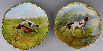 French Limoges Charger Grouping