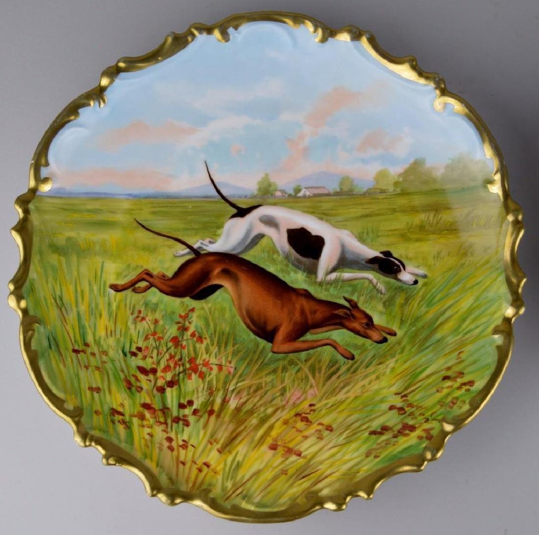 French Limoges Charger Grouping - 2