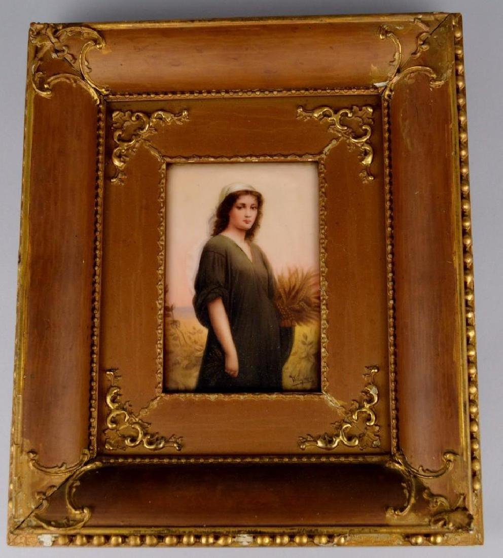 Wagner, Portrait Plaque