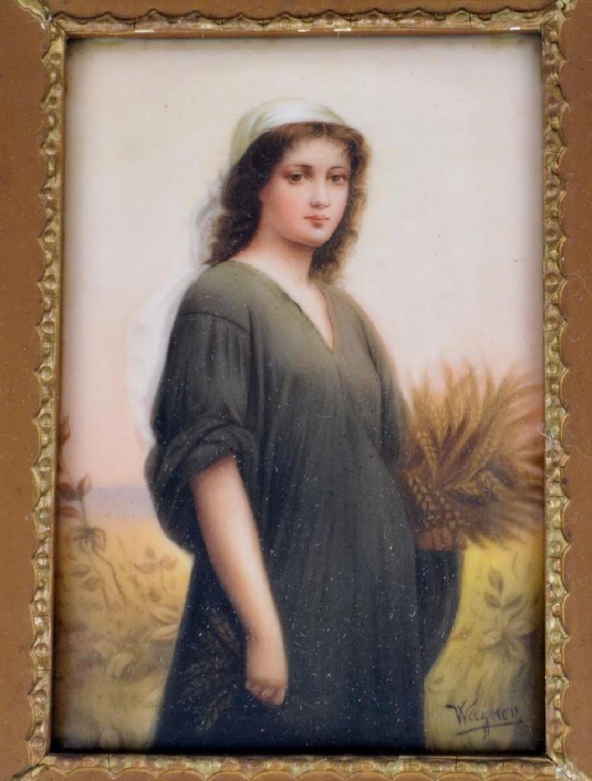 Wagner, Portrait Plaque - 2