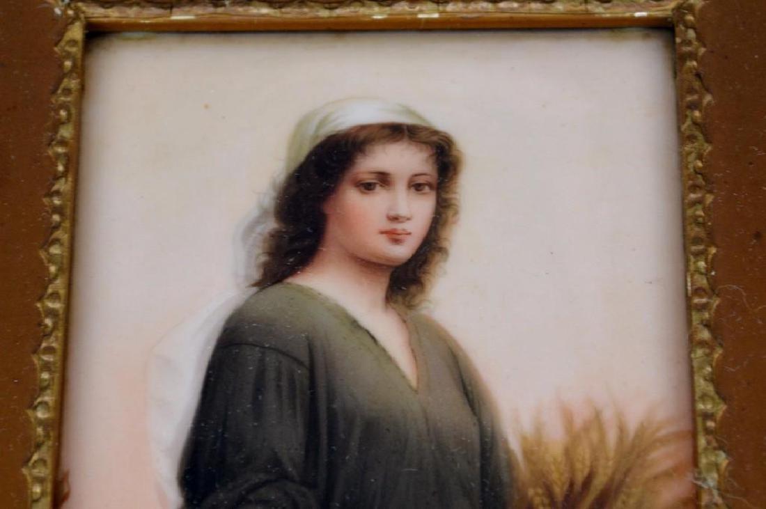 Wagner, Portrait Plaque - 3