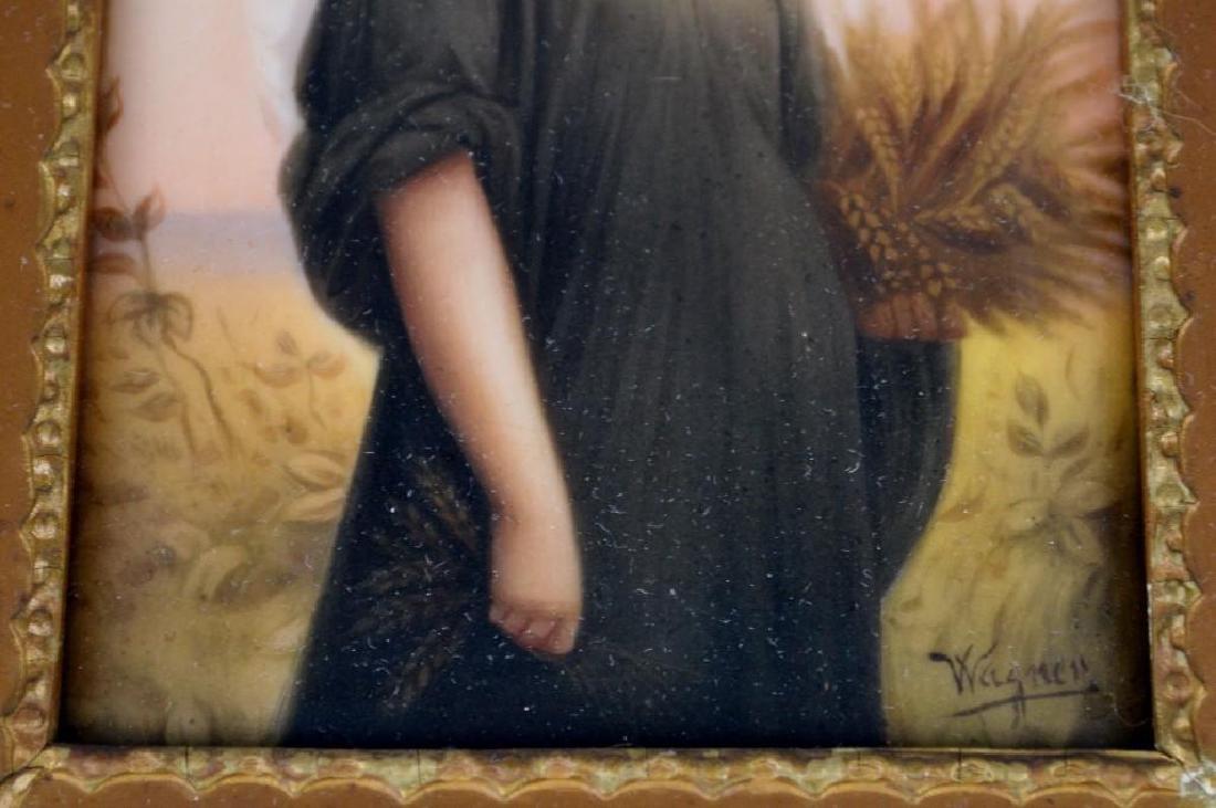 Wagner, Portrait Plaque - 4