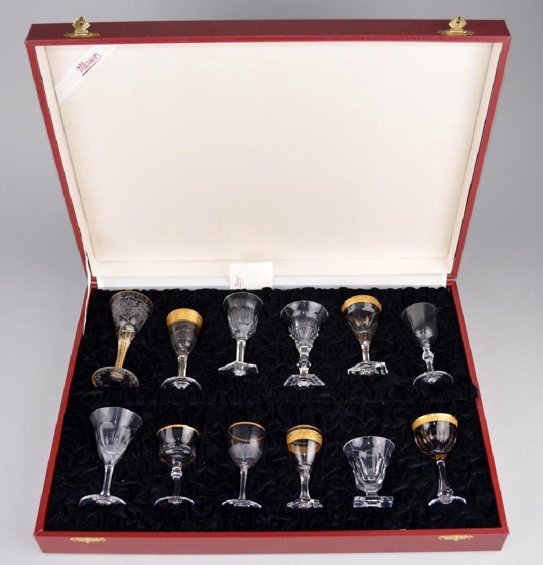 Moser 6/I Liquor Set in Presentation Case