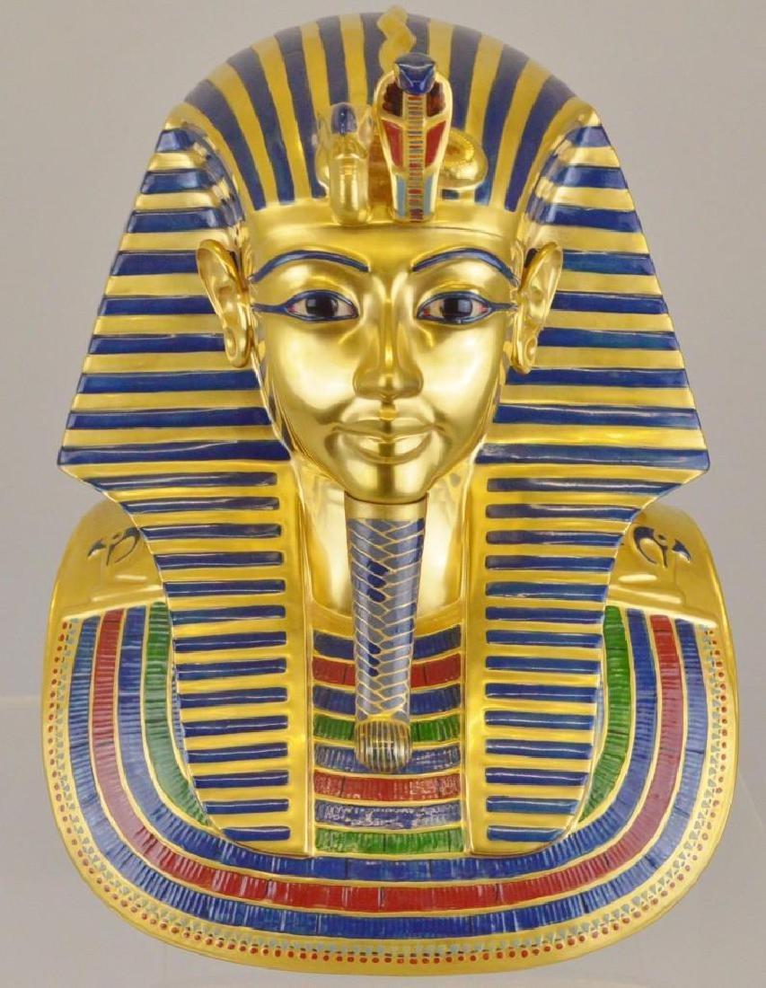 "Boehm Porcelain Treasures of Tutankhamun ""The Mask"""