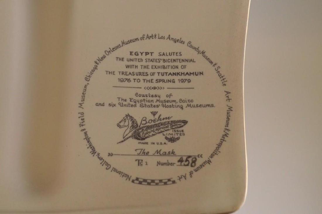 "Boehm Porcelain Treasures of Tutankhamun ""The Mask"" - 4"
