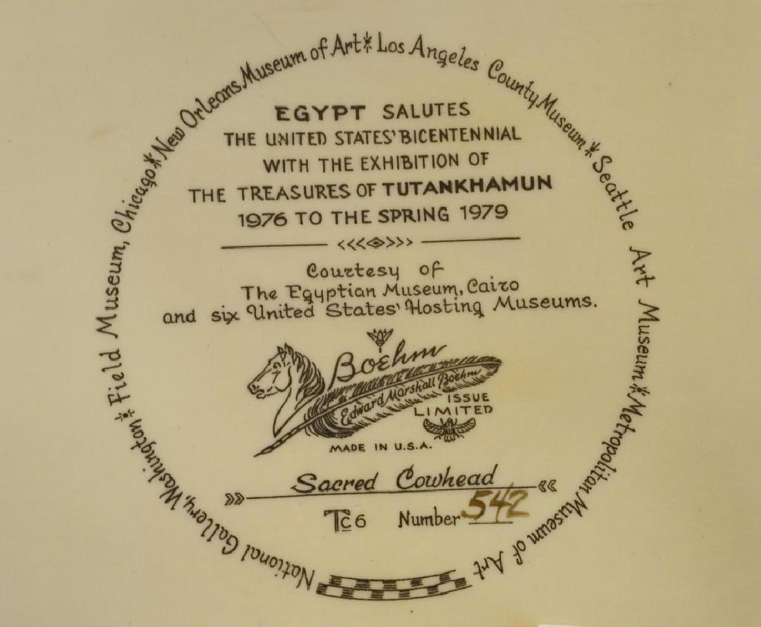 "Boehm Porcelain Treasures of Tutankhamun ""Sacred - 3"