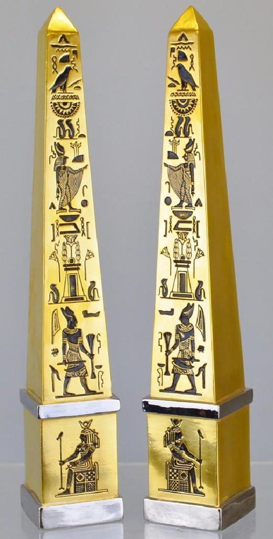 "Boehm Porcelain Treasures of Tutankhamun ""Obelisks"""