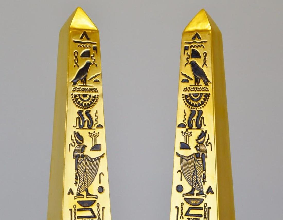 "Boehm Porcelain Treasures of Tutankhamun ""Obelisks"" - 3"