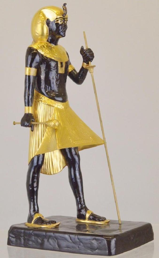 "Boehm Porcelain Treasures of Tutankhamun ""Guardian"