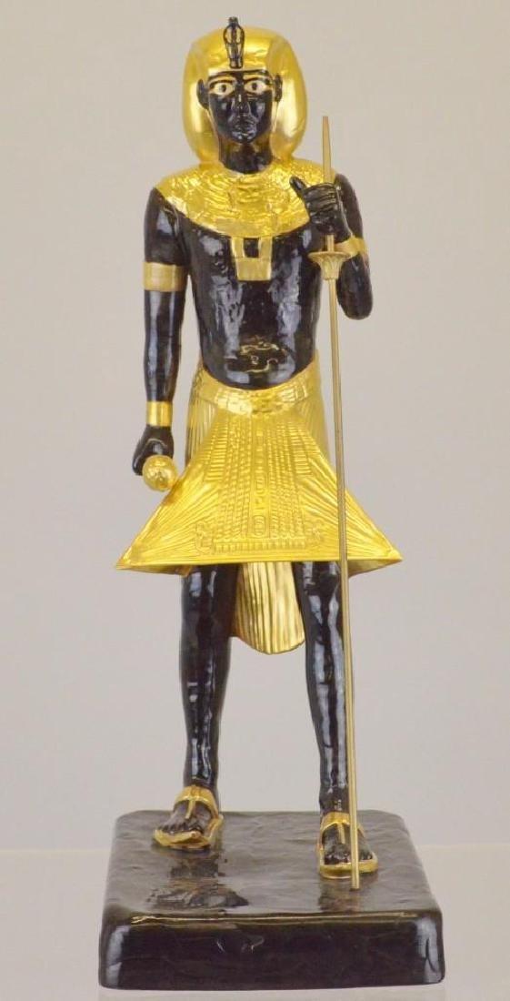 "Boehm Porcelain Treasures of Tutankhamun ""Guardian - 2"