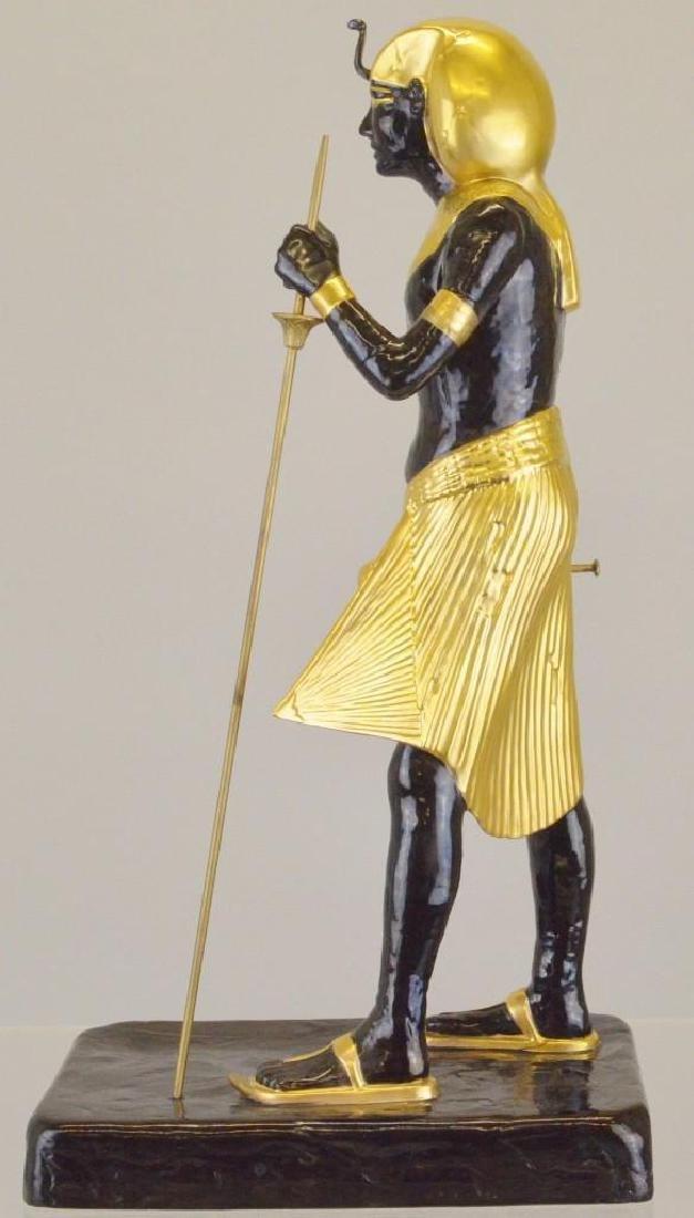 "Boehm Porcelain Treasures of Tutankhamun ""Guardian - 3"