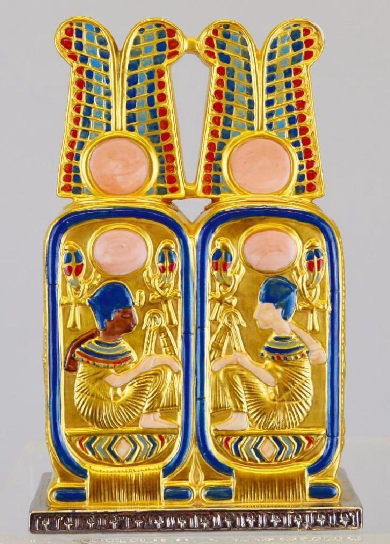 "Boehm Porcelain Treasures of Tutankhamun ""Perfume Box"""