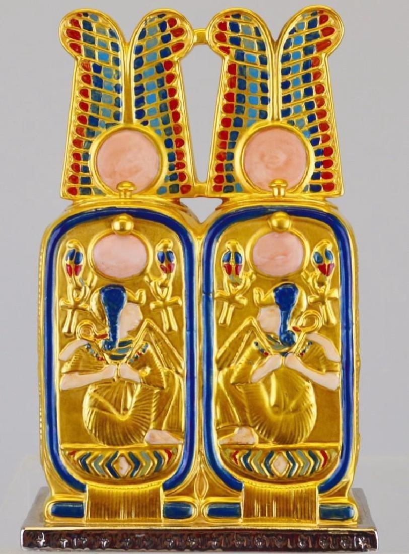 "Boehm Porcelain Treasures of Tutankhamun ""Perfume Box"" - 3"