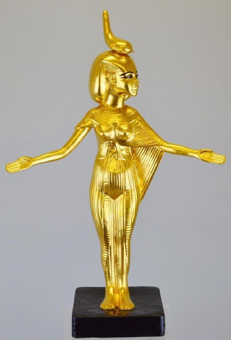 "Boehm Porcelain Treasures of Tutankhamun ""Goddess"