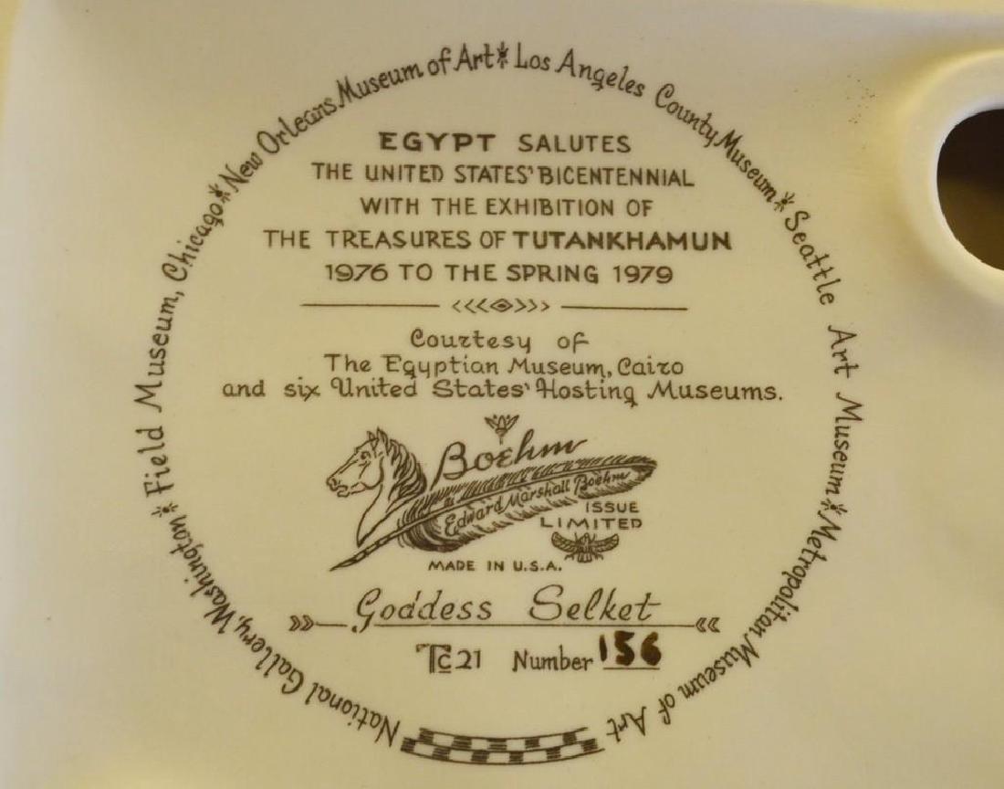"Boehm Porcelain Treasures of Tutankhamun ""Goddess - 3"