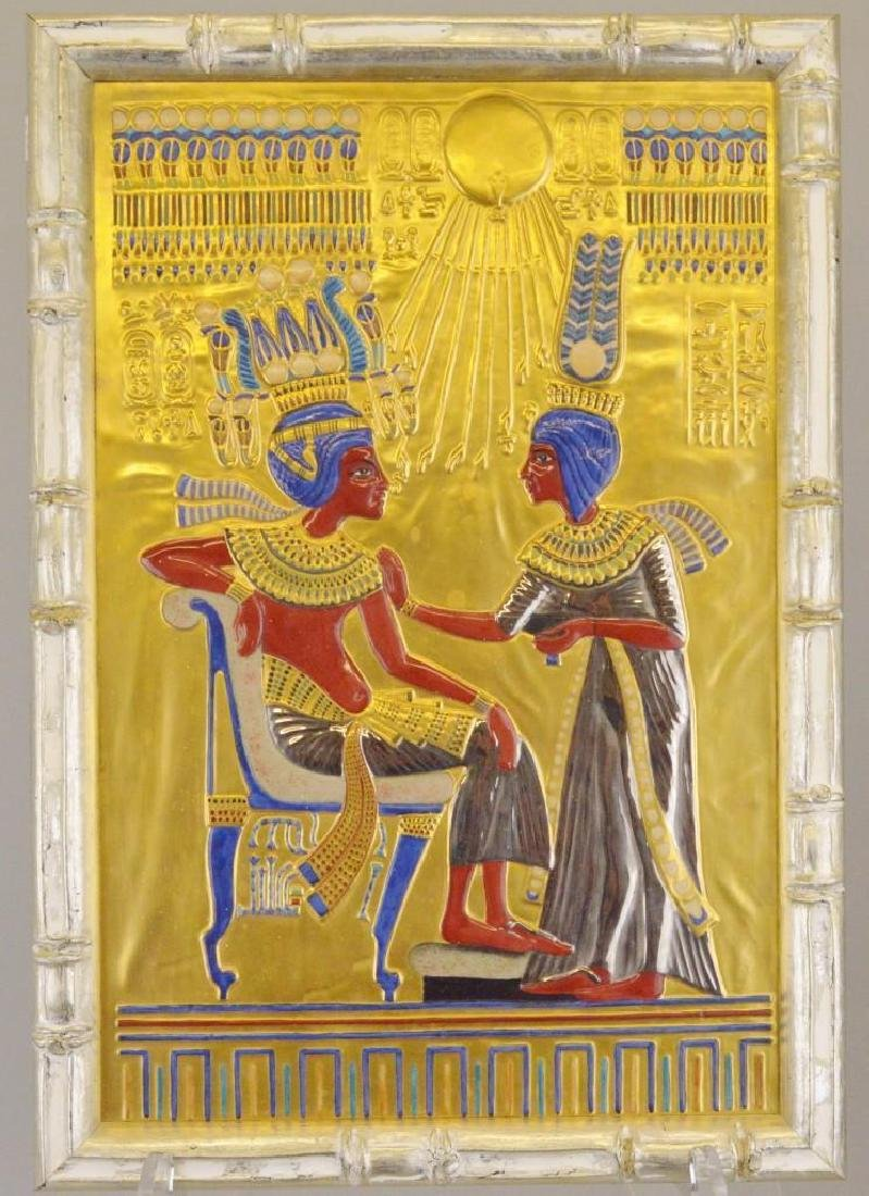 "Boehm Porcelain Treasures of Tutankhamun ""Golden Throne"