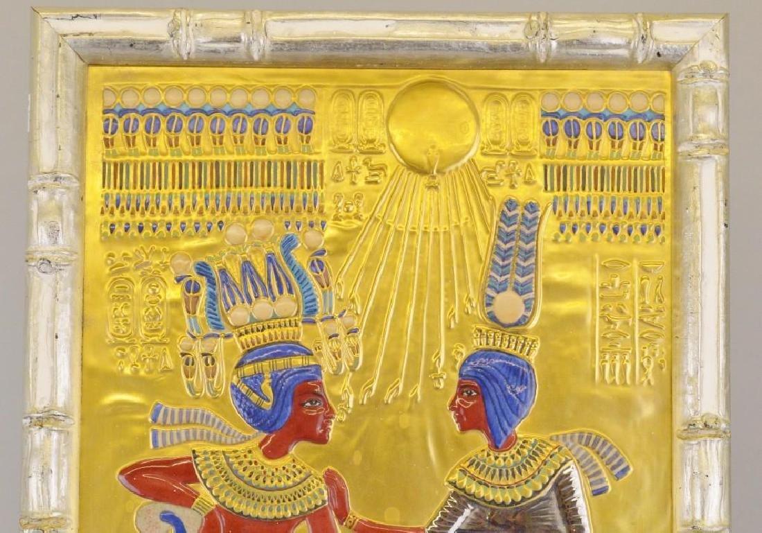 "Boehm Porcelain Treasures of Tutankhamun ""Golden Throne - 2"