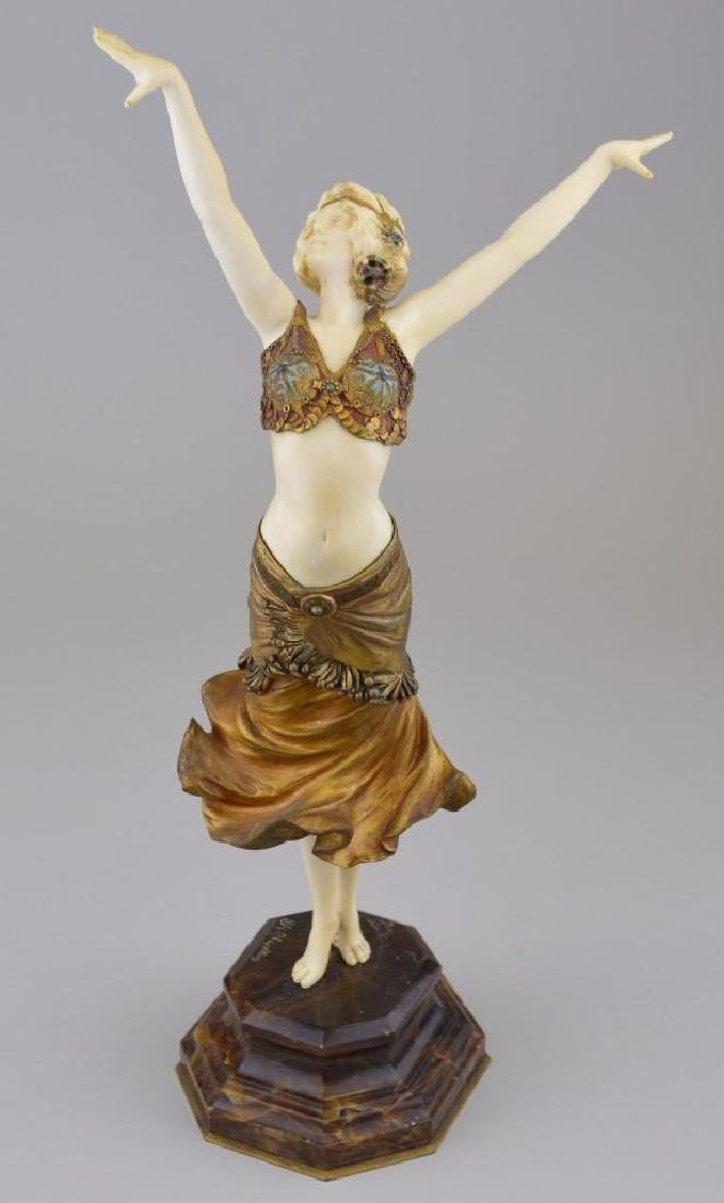 Dimitri H. Chiparus (1886-1947, France/Romania)  Dancer