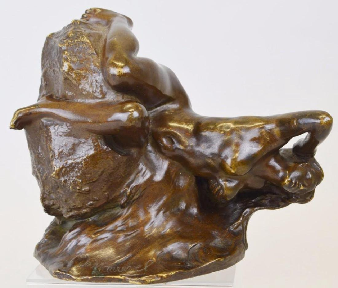 C. De Maurevel Bronze Sculpture