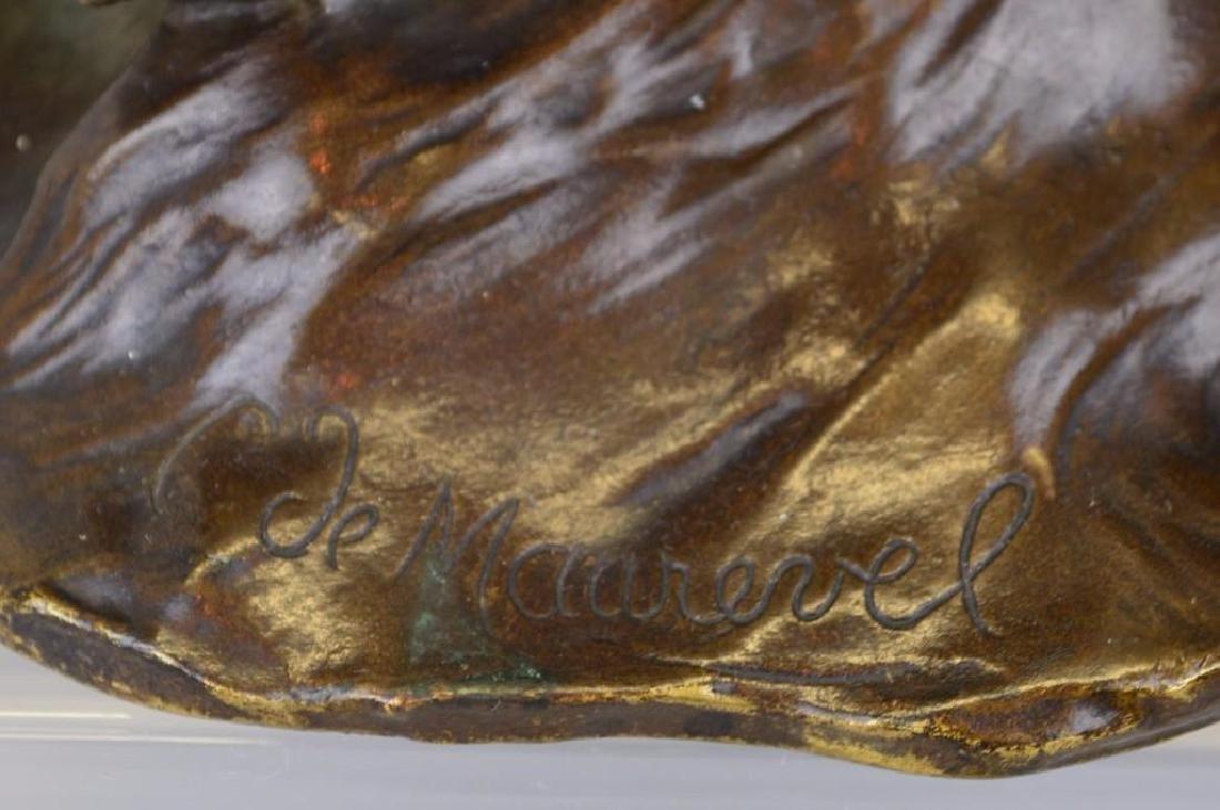 C. De Maurevel Bronze Sculpture - 2