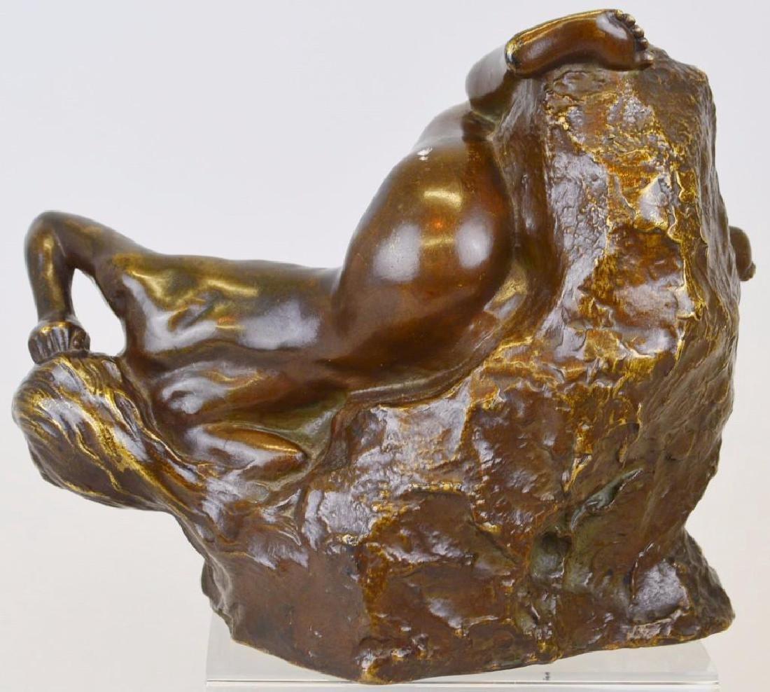 C. De Maurevel Bronze Sculpture - 3