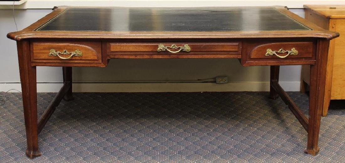Art Nouveau Partner's Desk - 2