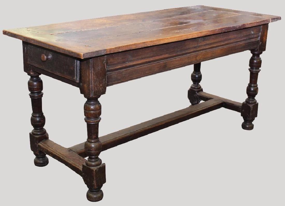 English Walnut Tavern Table