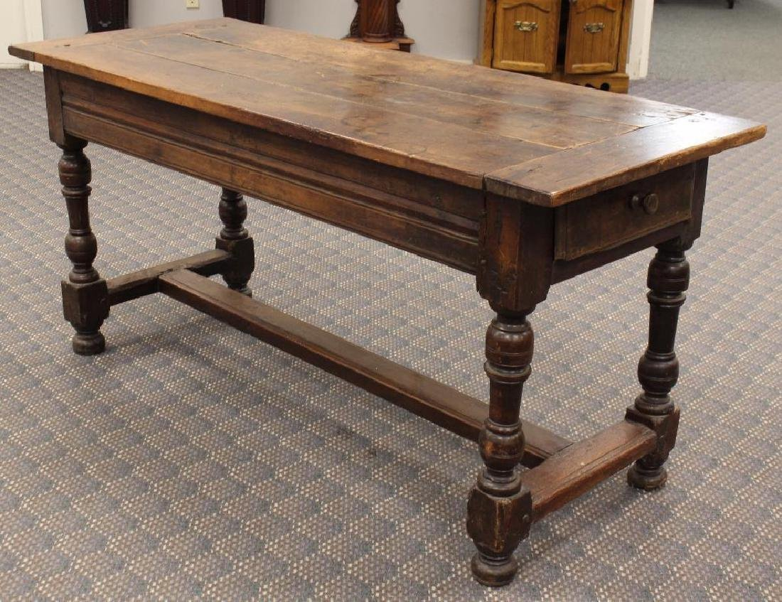 English Walnut Tavern Table - 3