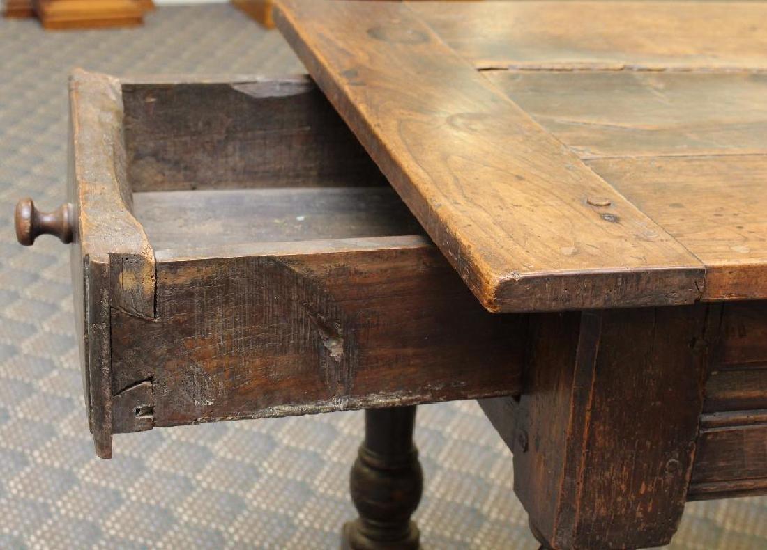 English Walnut Tavern Table - 5