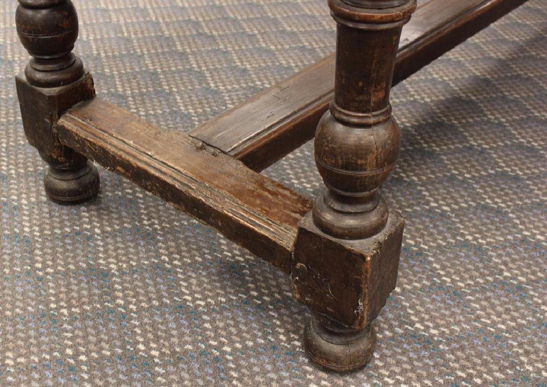 English Walnut Tavern Table - 8