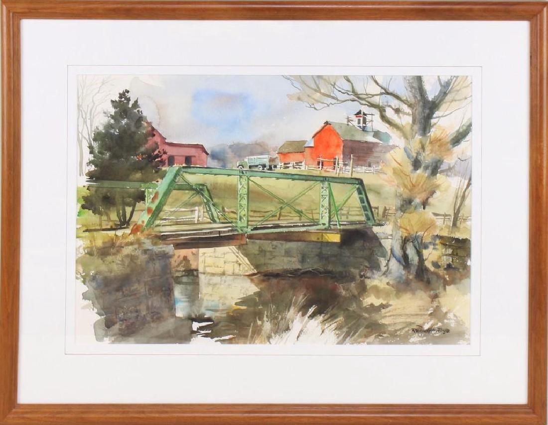 "Ranulph Bye (1916-2003, Pennsylvania/New Jersey) ""The"