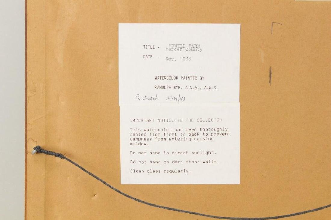 "Ranulph Bye (1916-2003, Pennsylvania/New Jersey) ""The - 5"