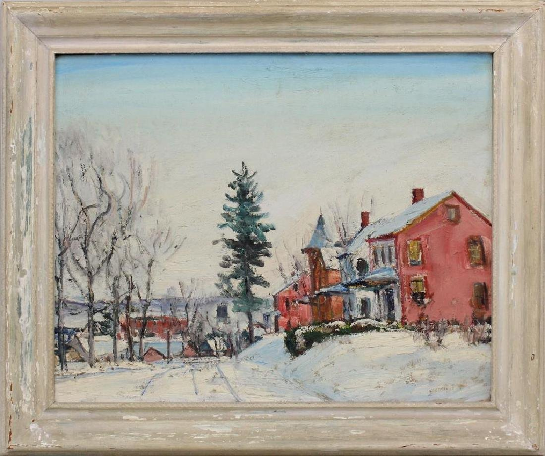 Walter Emerson Baum (1884-1956, Pennsylvania) Village