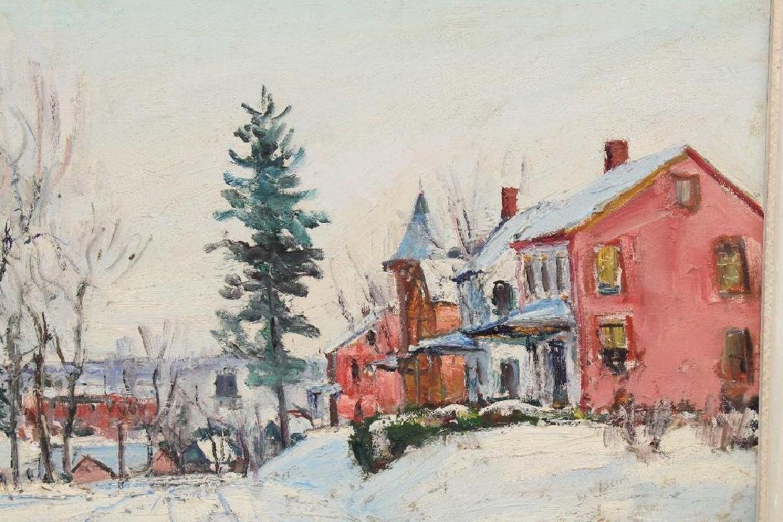 Walter Emerson Baum (1884-1956, Pennsylvania) Village - 2